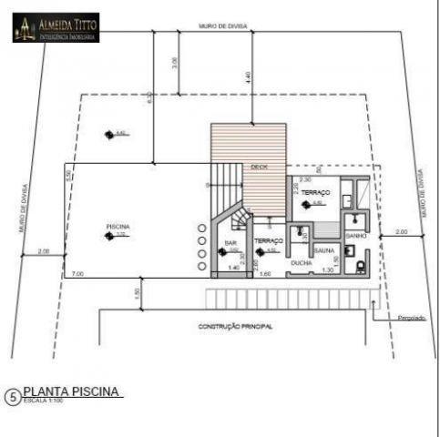 Excelente Mansão Para Locação ? Residencial Alpha 8 ? Área de Terreno 850 m² e Área Constr - Foto 20