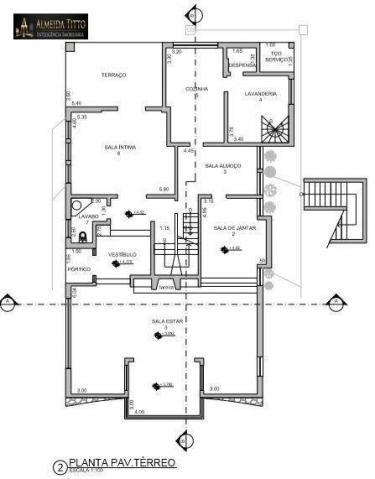 Excelente Mansão Para Locação ? Residencial Alpha 8 ? Área de Terreno 850 m² e Área Constr - Foto 16