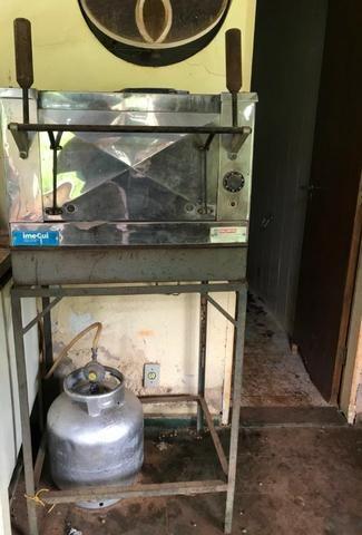 Forno de pedra refratária elétrico para pizza - Foto 3