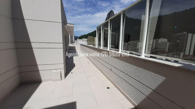 Cobertura linear em Botafogo, no You, Real Grandeza, 156m, 3 quartos, vista Cristo - Foto 2