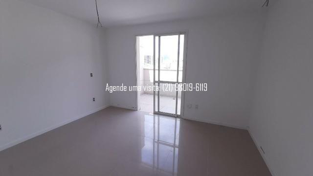 Cobertura linear em Botafogo, no You, Real Grandeza, 156m, 3 quartos, vista Cristo - Foto 17