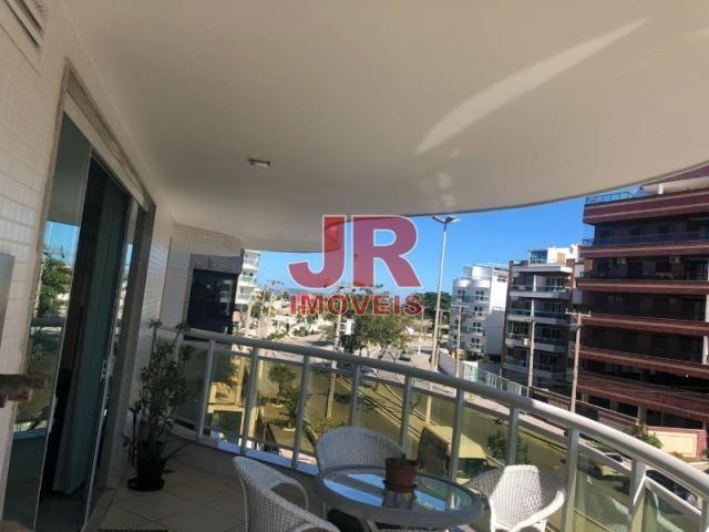 Excelente apartamento de alto padrão 4 suítes, decorado e mobiliado. Passagem-Cabo Frio-RJ - Foto 5