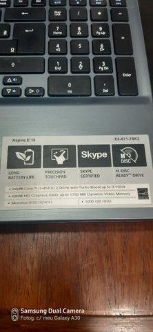 Notebook acer i7 - Foto 2