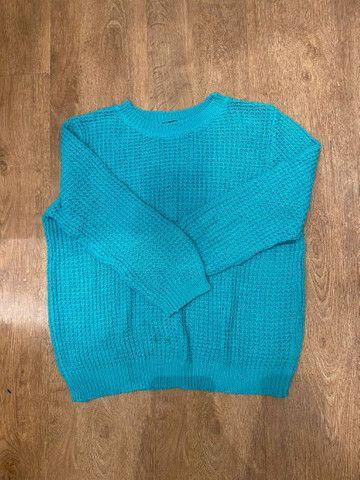 Blusãozinho tricot muito de qualidade - Foto 2