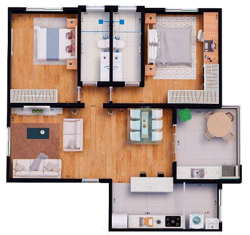 Apartamentos financiados - Foto 9