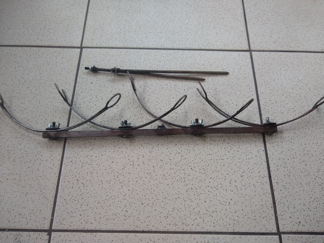 Suporte de varas de pesca. - Foto 3