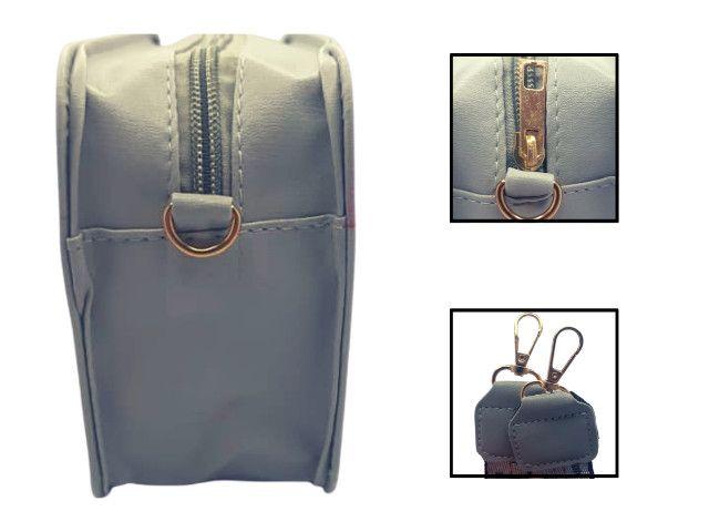 Bolsa Feminina Transversal Mini Bag Blogueira - Foto 6