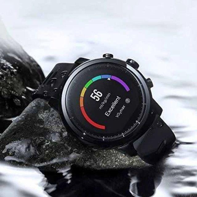 Smartwatch Amazfit Stratos 2 - Novo. Lacrado na caixa - Foto 2