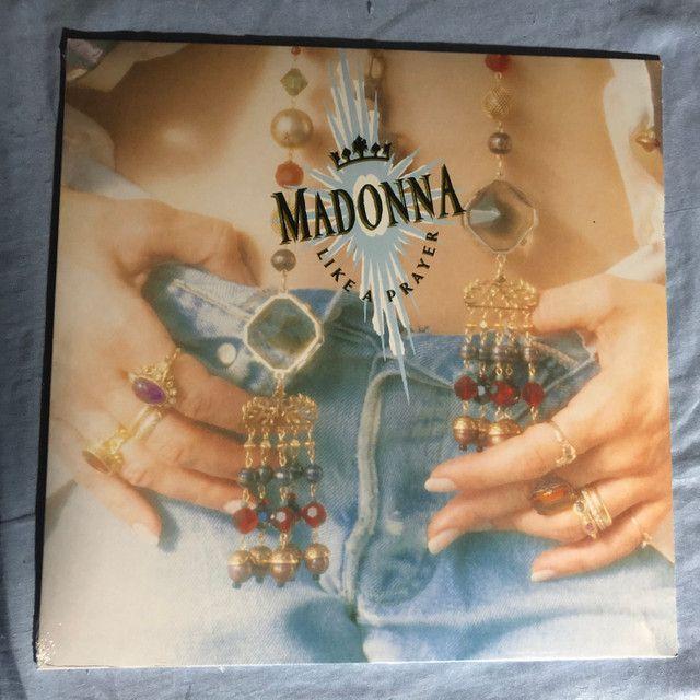Madonna lp vinil Like a prayer - lacrado