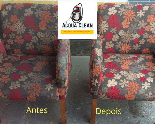 Higienização de Sofás (SERVIÇO PROFISSIONAL PREÇO  JUSTO)