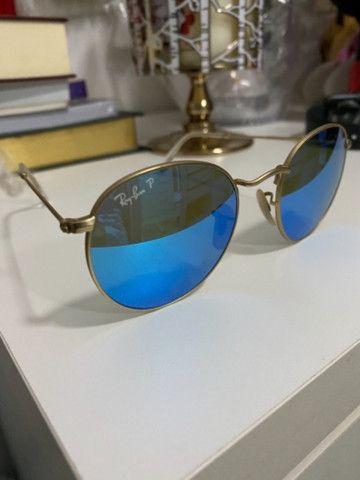 Ray ban polarizado azul original - Foto 3