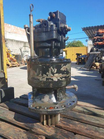 Motoredutor hidráulico Escavadeiras E215B / CX220B /n * - Foto 4