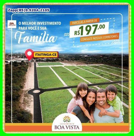 Loteamento em Itaitinga- Faça uma visita!#@! - Foto 14