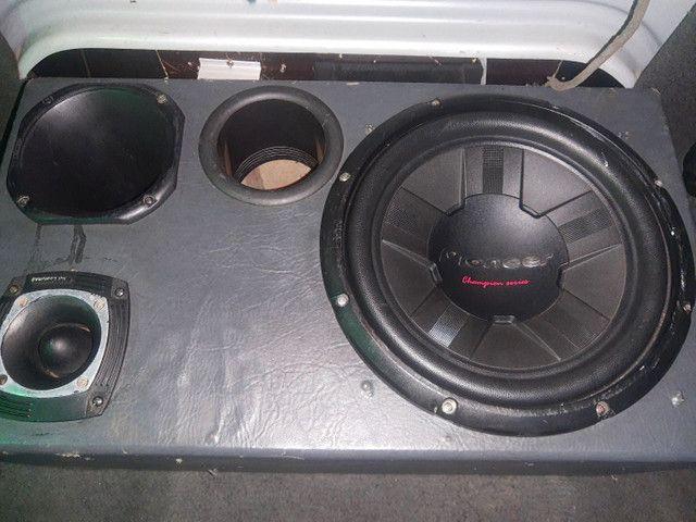 Pioneer cara preta 400 rms - Foto 4