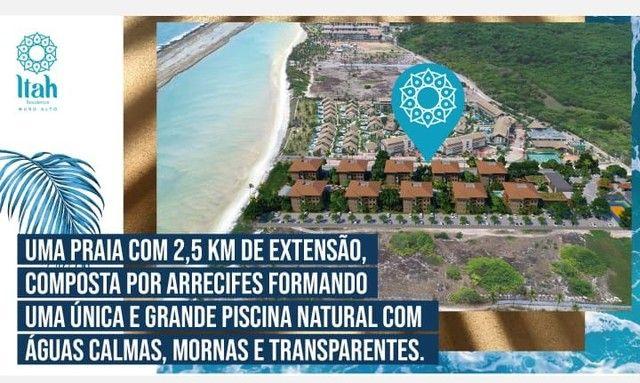 Flat com 2 dormitórios à venda, 56 m², térreo por R$ 630.000 - Praia Muro Alto, piscinas n - Foto 2