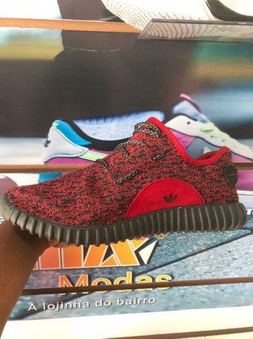Adidas YZY Vermelho - 70,00 - NOSSO ZAP - (9 9 9 2 0 - 2 9 9 5)!<br><br> - Foto 2
