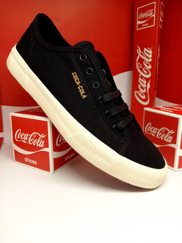 Tênis Coca-Cola apollo preto