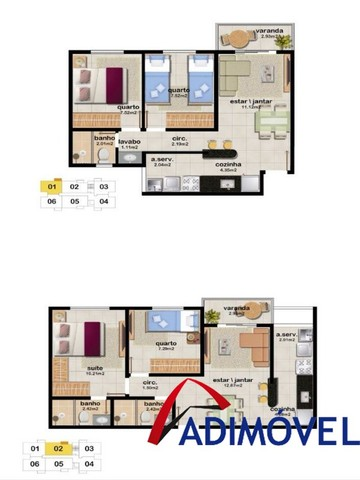 Apartamentos na Serra com metragem a partir 46m². - Foto 10