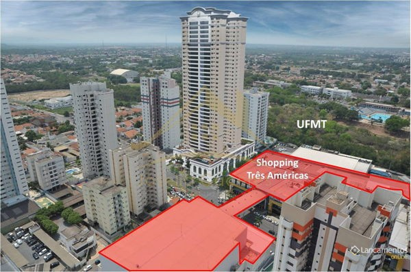Apartamento com 4 quartos no Edifício American Diamond - Bairro Jardim das Américas em Cu
