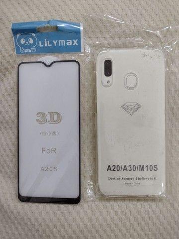 Película de vidro 3D para celular e capa - Foto 6