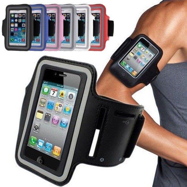 Braçadeira celular corrida, academia/Capa celular braço