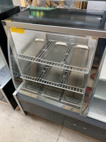 Balcão conjugado - estufa quente + refrigerado para tortas-para lanchonetes - Foto 3