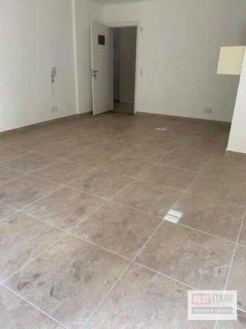 Conjunto, 43 m² - venda por R$ 175.000 ou aluguel por R$ 1.500/mês - Valongo - Santos/SP - Foto 5