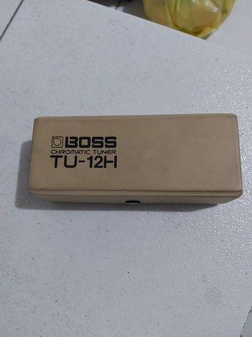 Afinador Boss TU-12H - Agulha de Precisão - Foto 2