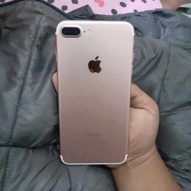 iPhone 7 Plus 128gb rosê
