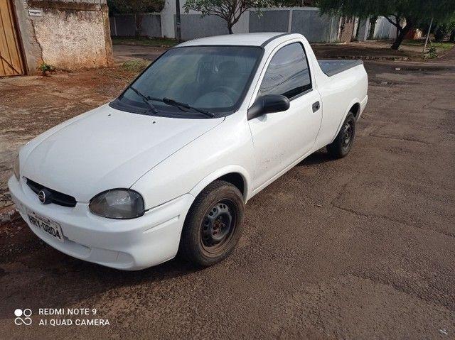 Vendo ou troco pickup corsa - Foto 2
