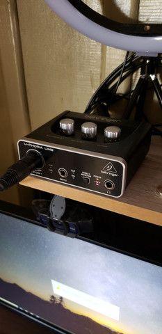 BM-800 e Interface Uphoria UM2 - Foto 3