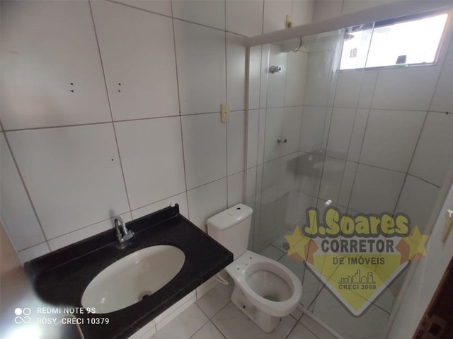 Cid. Universitário, 2 vagas, 3 quartos, suíte, 92m², R$ 980, Aluguel, Apartamento, João Pe - Foto 8