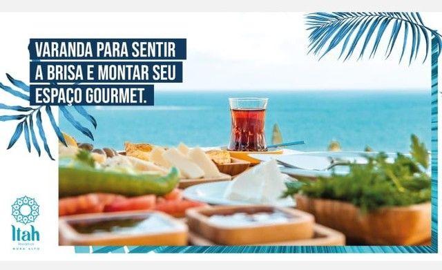 Flat com 2 dormitórios à venda, 56 m², térreo por R$ 630.000 - Praia Muro Alto, piscinas n - Foto 11