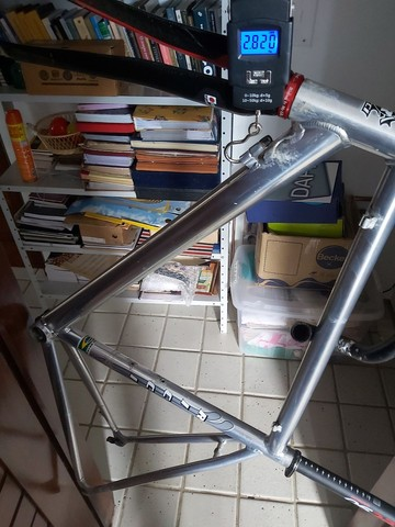 Quadro Speed 54 marca Ricci super leve  - Foto 5