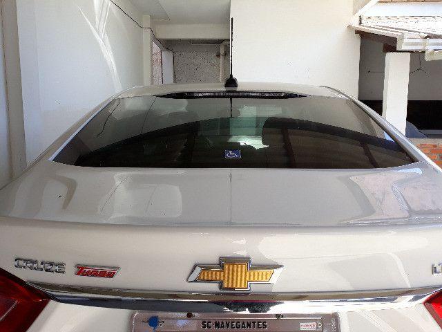 Cruze LTZ, Branco, 1.4 Turbo Flex. Carro em perfeito estado de conservacão. - Foto 7