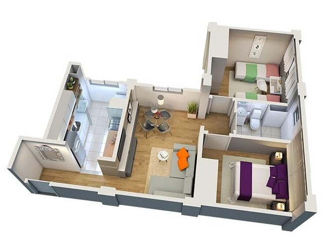 Apartamento em Jardim Imperial, Lagoa Santa/MG de 47m² 2 quartos à venda por R$ 120.900,00 - Foto 5