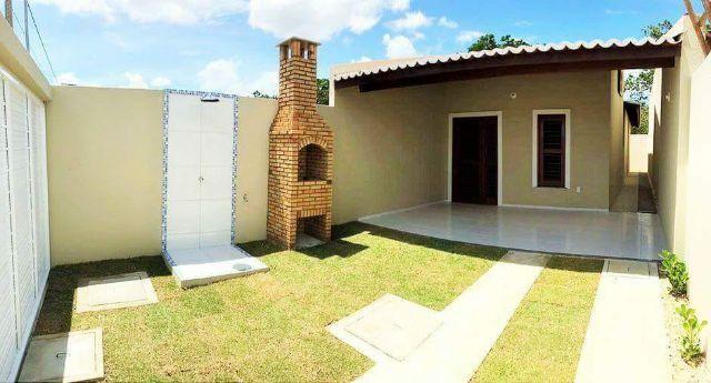 Casas planas px a Br116 com 2 suites churrasqueira ,chuveirão por R 135 MIL Oportunidade