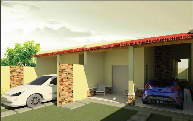 Casas no Bairro Urucunema Eusébio com 2 Suites 81m2