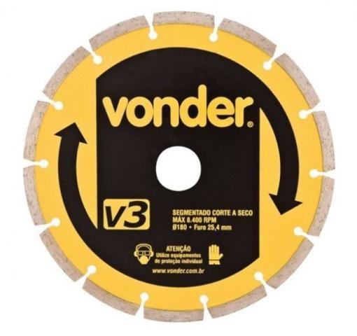Disco Diamantado 180mm v3 Vonder