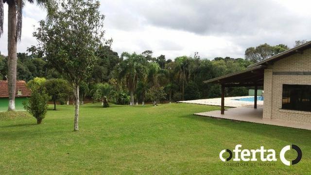 Chácara em Araucária com piscina e amplo Salão - Foto 11