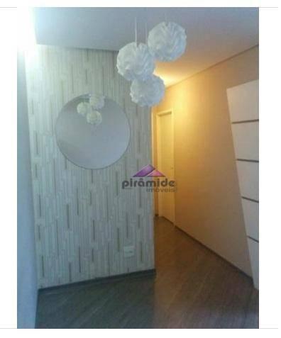 Apartamento com 2 dormitórios à venda, 55 m² por r$ 265.000,00 - jardim augusta - são josé - Foto 4