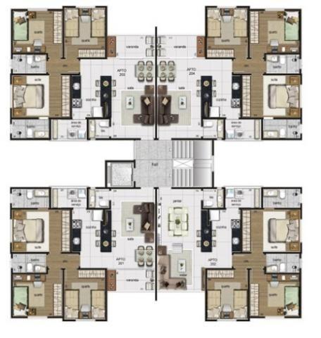 Apartamento 03 quartos com suite no bairro planalto. - Foto 6