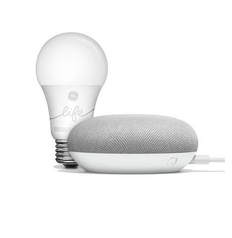 Google Kit Smart light starter + Google Home mini
