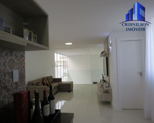 Casa à venda alphaville salvador ii, nova, r$ 2.400.000,00, piscina, espaço gourmet! - Foto 15