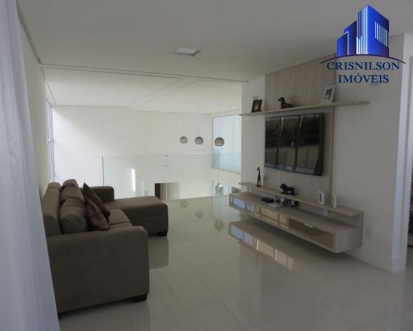 Casa à venda alphaville salvador ii, nova, r$ 2.400.000,00, piscina, espaço gourmet! - Foto 13