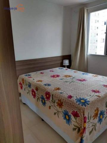 Lindo apartamento com 2 dormitórios à venda, 47 m² por r$ 195.000 - palmeiras de são josé  - Foto 8