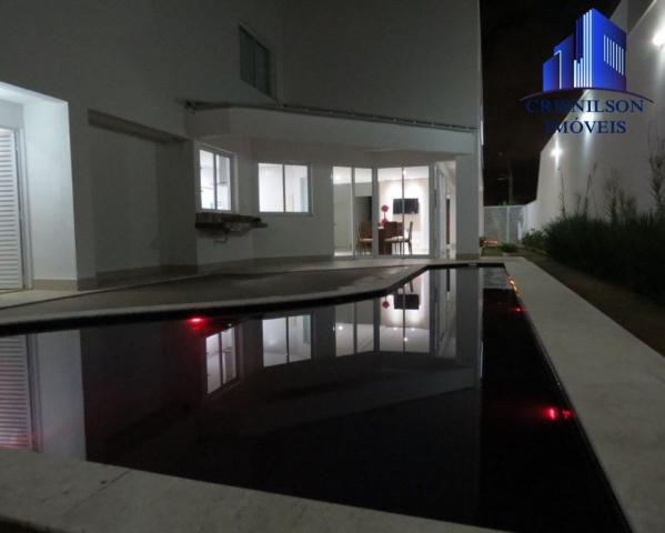 Casa à venda alphaville salvador ii, nova, r$ 2.400.000,00, piscina, espaço gourmet! - Foto 19