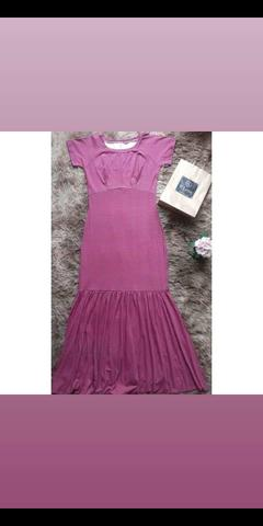 Excelente Vestido longo estilo sereia ( M)?V'leny moda plus size?