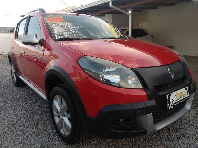 Renault sandero stepway 2012 completo financio e aceito trocas