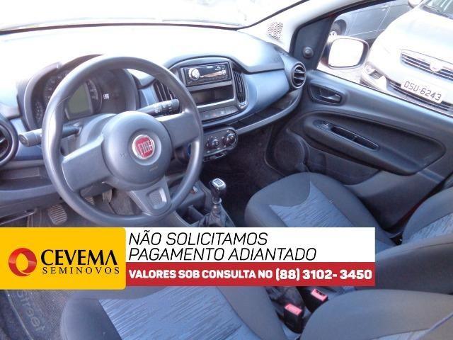 Fiat Uno Drive 1.0 - Vermelho - Foto 9